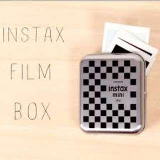 CHEAPEST: Fujifilm Instax Mini Film Box Storage Protect 8 9 70 25 50 Share SP1 SP2 Printer Polaroid