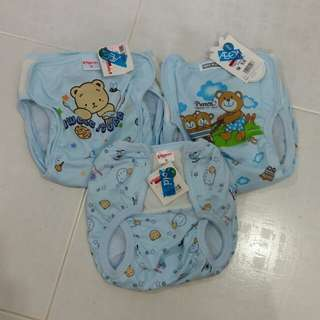 Diaper Pants (M) x 3 pcs