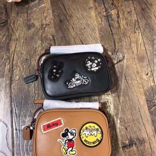 Coach Sling Bag - Mickey Mouse