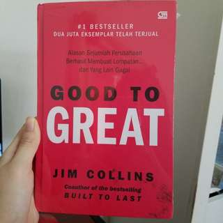 Baru - Good to great (msh dibungkus plastik)