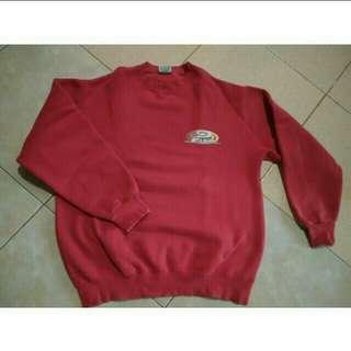 Sweater Merah Murah