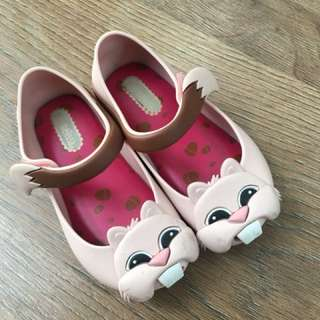 Mini Melissa shoes size US 7 atau Eur 22/23