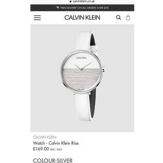 Calvin Klein 女裝手錶 100%全新 從未使用