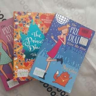 Princess Diaries 1, 2, & 5 (3 for 100)