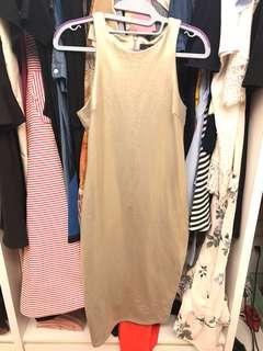 AX Paris Matt Gold dress