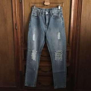 High waist Mum Jean