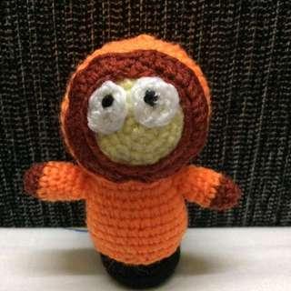 Kenny from South Park amigurumi