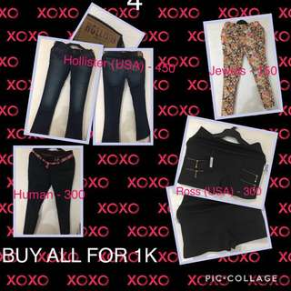 Rush Sale!! New Pants/High-waisted Short (size 30-31)