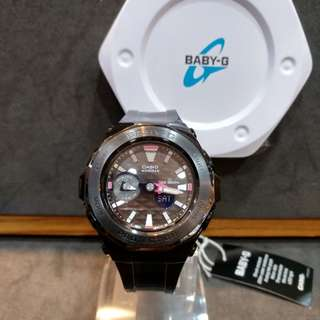 * FREE DELIVERY * Brand New 100% Authentic Casio BabyG Black Bezel & Black Dial Baby G Ladies Watch Baby-G BGA225G 1 BGA225G-1ADR