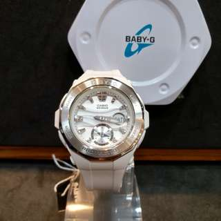 * FREE DELIVERY * Brand New 100% Authentic Casio Baby G Matt Blue & Black Bezel Baby G Ladies Watch Baby-G BGA225G 2 BGA225G-2ADR
