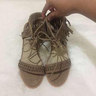 Bohemian khahi shoes