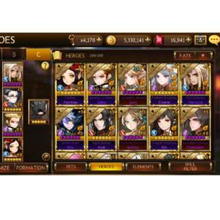 Seven Knights Account