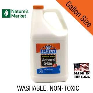 Elmer's School Glue Gallon Size for Slime Making