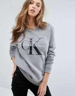 AUTHENTIC Calvin Klein Grey Jumper