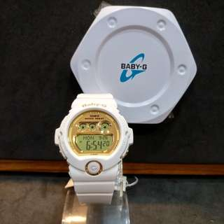 * FREE DELIVERY * Brand New 100% Authentic Casio BabyG White Gold Baby G Digital Ladies Watch Baby-G BG6901 7 BG6901-7DR