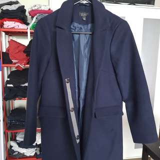 Topshop Navy Jacket