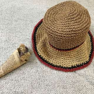 ZARA 渡假風遮陽防曬草帽