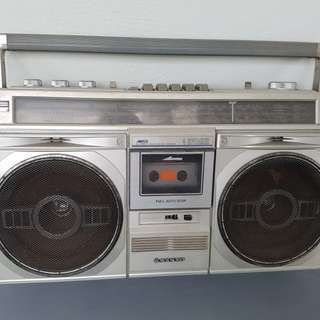 Vintage Sanyo cassette player
