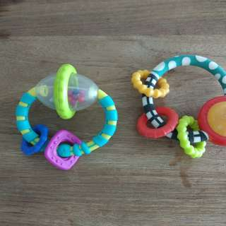 Baby check toys