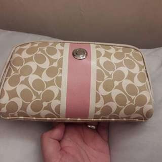 Auth.Coach Cosmetic Pouch