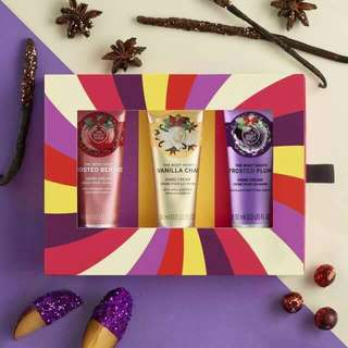 The Body Shop Hand Cream Gift Holiday Season Original Counter - FIXED PRICE