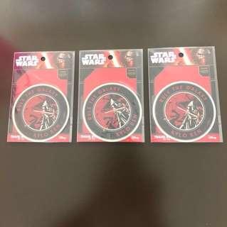 全新日本制 Star Wars 貼紙