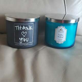 Bath and Body Works candle 蠟燭台。