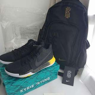 Kyrie 3 US11 $650 Kyrie Backpack (SOLD)
