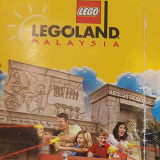 Legoland 1-day Theme + Water Park Admission Ticket
