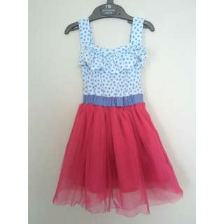 Birds & Bees tutu dress