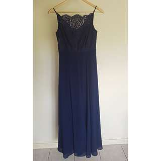 Navy Lace Dress from Review
