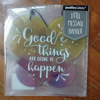 popular little message hanger