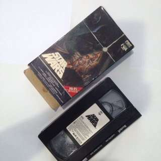 Star Wars (CBS FOX HI-FI Stereo) VHS