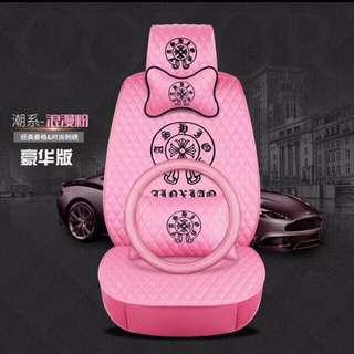 ♥️特價♥️ 通用車型系列車墊車套頭枕腰枕車軚一套