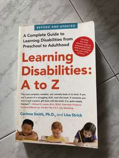 Learning disabilities: A - Z