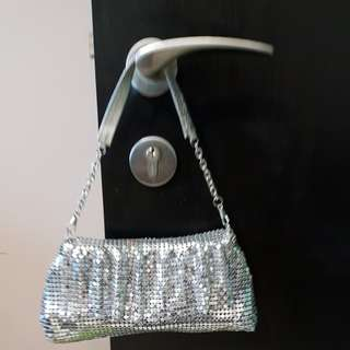 Sparkly hand sling