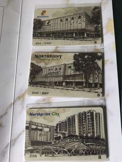 Limited Edition Nothpoint Flashpay Cards