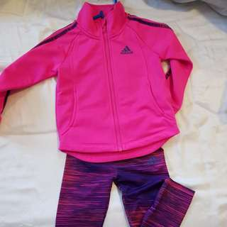 Adidas baby track suit
