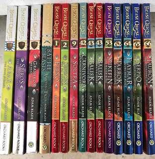 Beast Quest set of 15 books