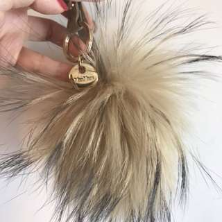 Max Mara Key Chain Pom Pom (Made in Italy)