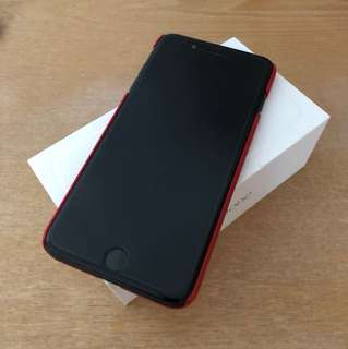 iPhone 7plus 128g Jet Black free Balenciaga Casing
