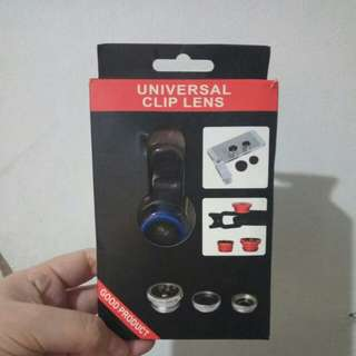 Universal 3in1 Camera Clip-on Lens for cellphone