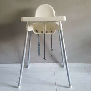 ANTILOP High Chair with Tray