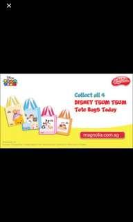 Magnolia Disney Tsum Tsum Tote Bag