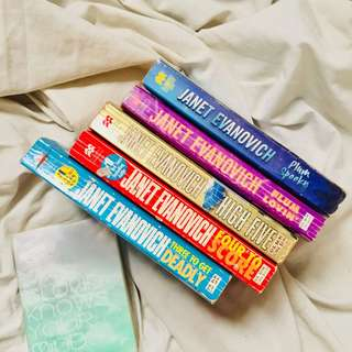 Janet Evanovice book bundle