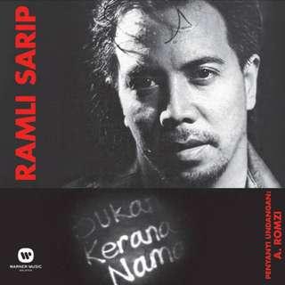 CD RAMLI SARIP Bukan Kerana Nama Gold CD 24bit Stock Terhad