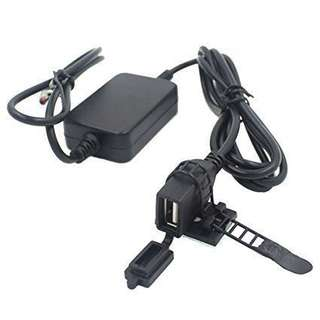 USB fast charger for motorcycle