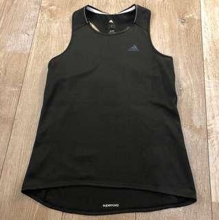 Adidas L號 黑色背心