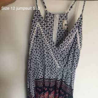 Jumpsuit size 12