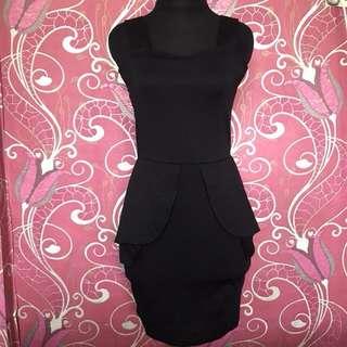 Dress bodycon hitam